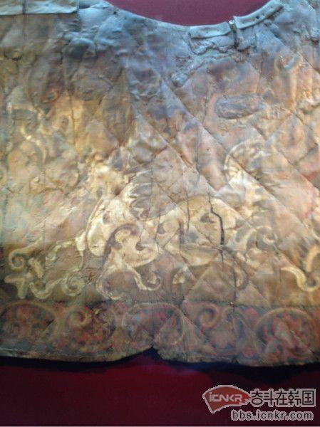马鞍垫子上绘有天马,天马图案作为1500多年前古新罗时代唯一的绘画