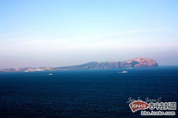 韩国济州岛景点之城山日出峰