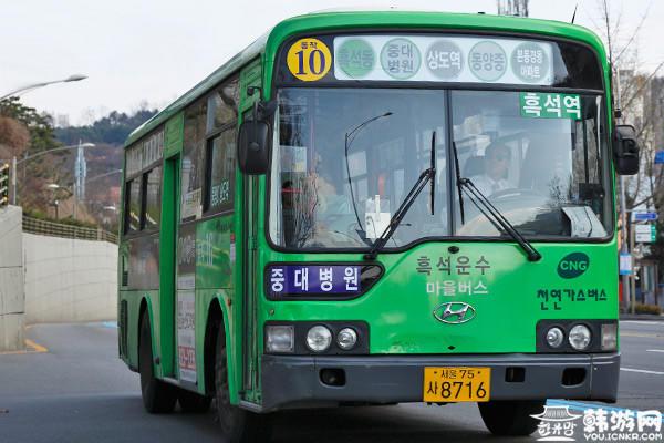 韩国公交,韩国绿色小区公交