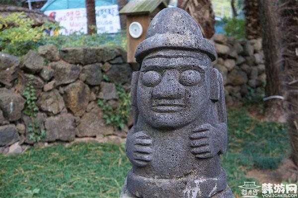 韩国济州岛石头老爷爷