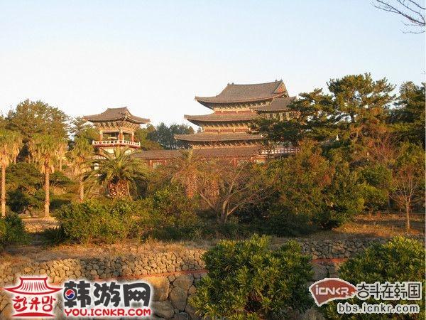 徐福的传说和韩国济州岛西归浦的景点