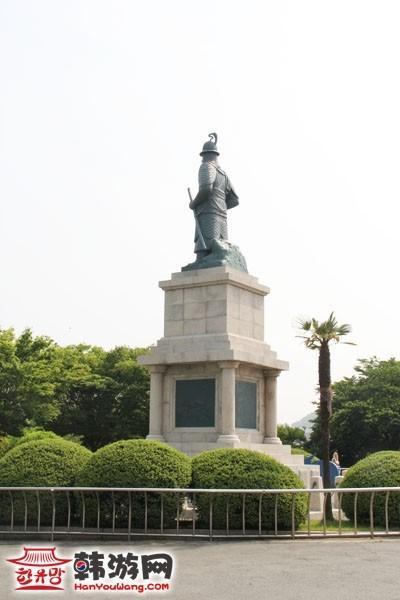 釜山龙头山公园_韩国景点_韩游网