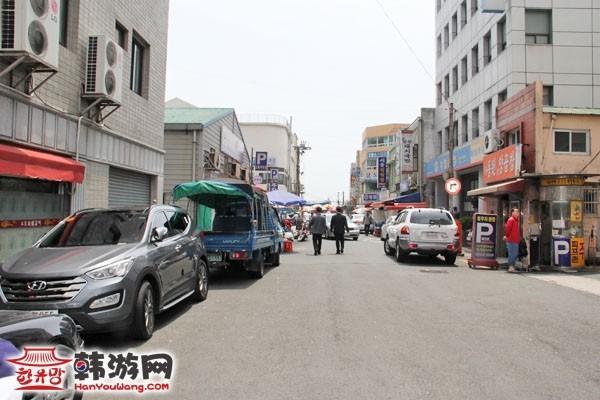 釜山札嘎其市场交通路线