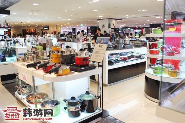 乐天百货店首尔总店8层5