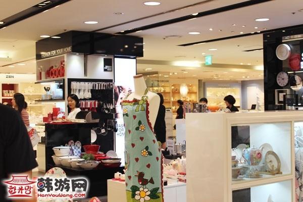乐天百货店首尔总店8层6