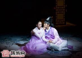 韩国传统歌舞剧《美笑》