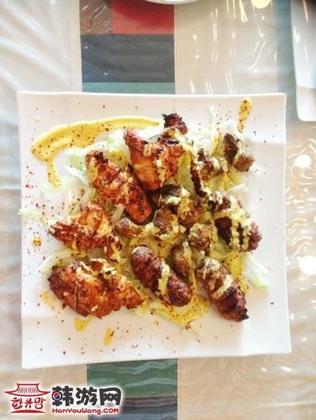 龙山阿拉伯风情餐厅Arabic house_韩国美食_韩游网