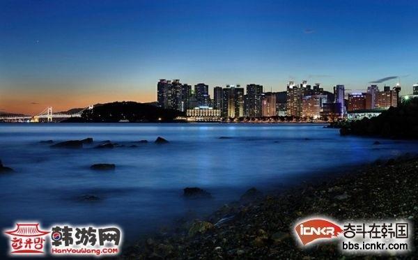 釜山海云台海水浴场