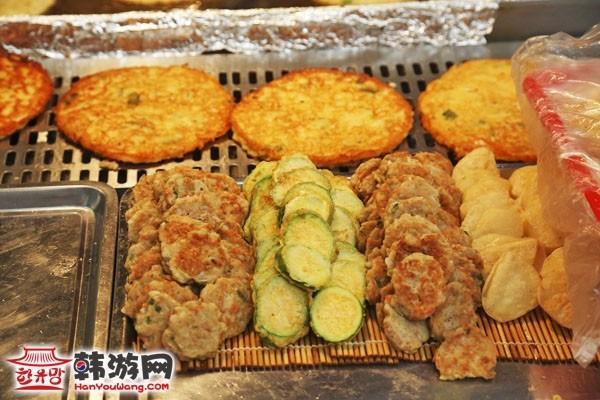 韩国广藏市场美食1