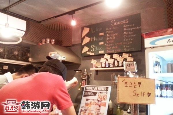 外大CORNET DE FRITES薯条店_韩国美食_韩游网