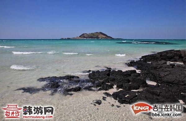 济州岛挟才海水浴场