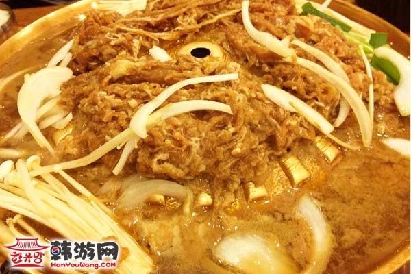 韩国料理雪浓汤7