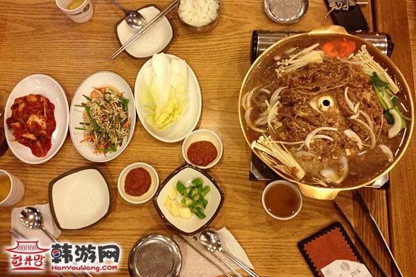 韩国料理雪浓汤9