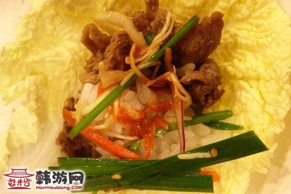 韩国料理雪浓汤10