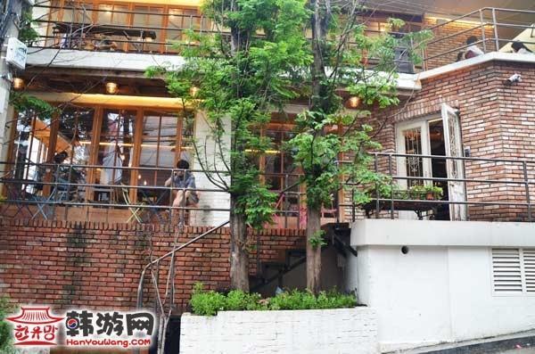 韩国复古庄园咖啡厅20