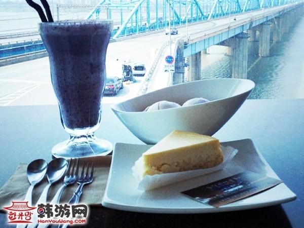 韩国汉江云上咖啡厅3