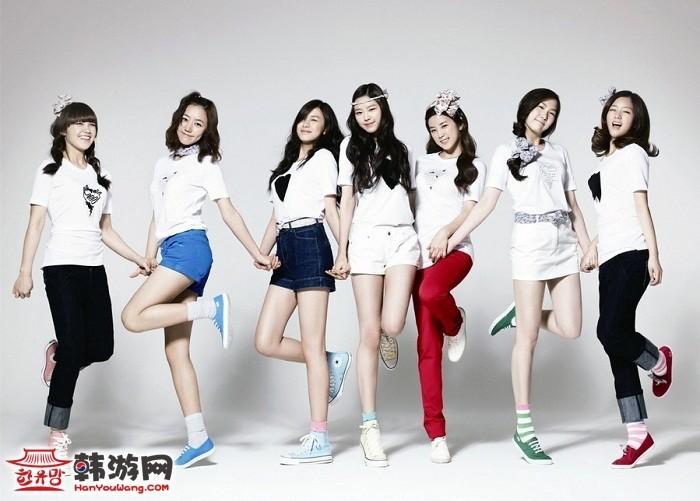 2013韩国女团全新排名 少女时代登顶 地位无可撼动