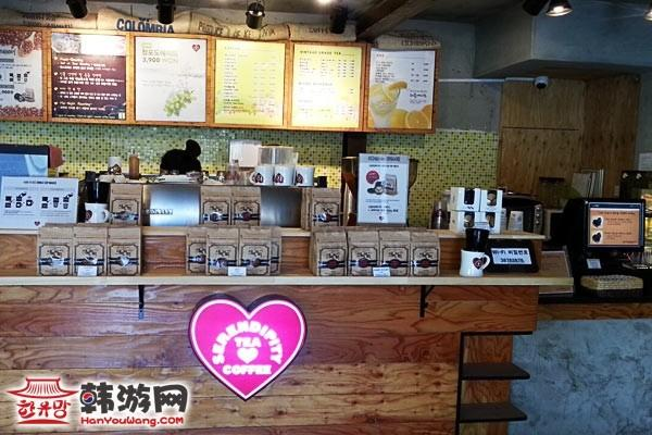 中央大SERENDIPITY COFFEE_韩国美食_韩游网