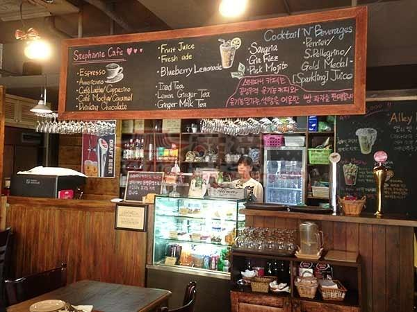 韩国Stephanie cafe咖啡厅11