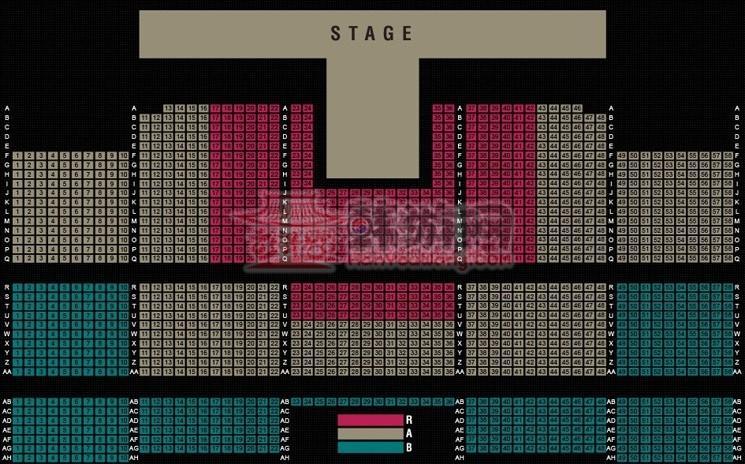 WAPOP公演座位