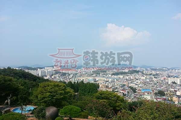 韩国木浦儒达山雕刻公园3