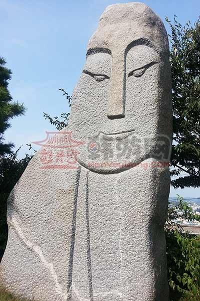 韩国木浦儒达山雕刻公园5