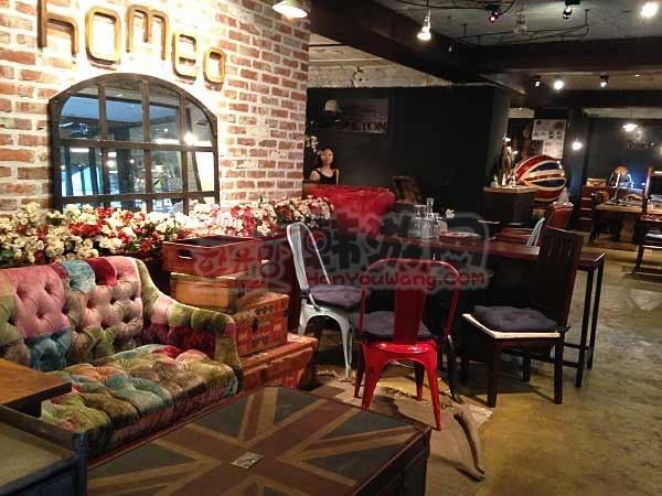韩国Homeo cafe 古典家具咖啡店10