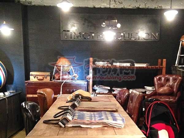 韩国Homeo cafe 古典家具咖啡店12