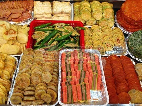 韩国广藏市场美食