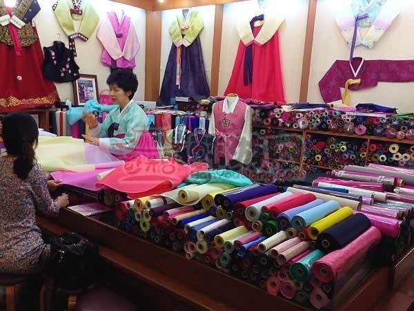 韩国广藏市场