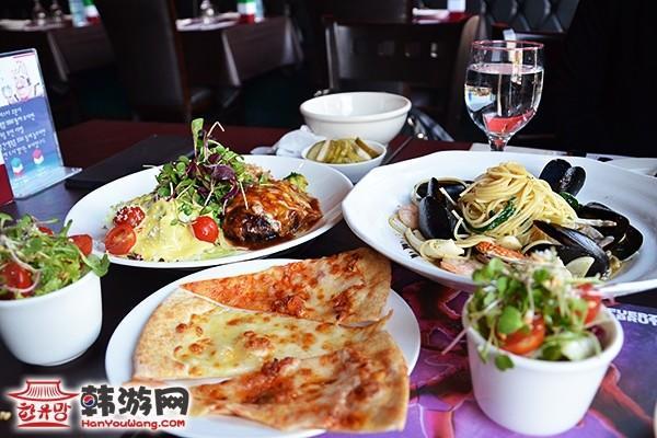 韩国IL Mazzio西餐连锁建大店10