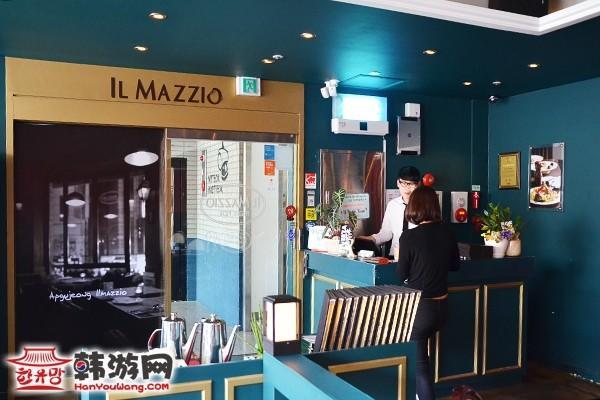 韩国IL Mazzio西餐连锁建大店12