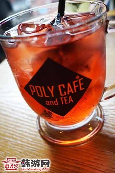 韩国弘大POLY CAFE and TEA咖啡甜品店9
