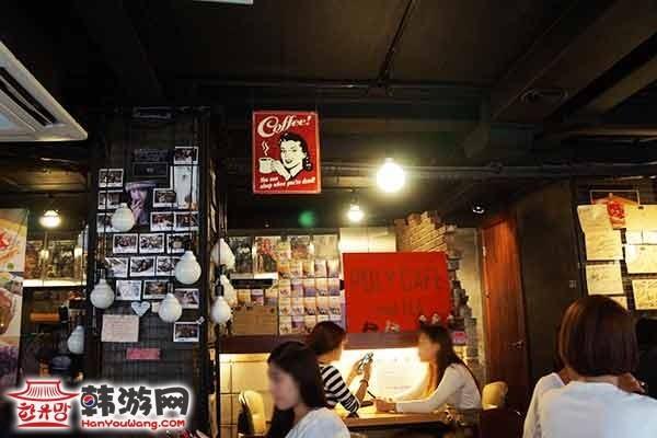 韩国弘大POLY CAFE and TEA咖啡甜品店12