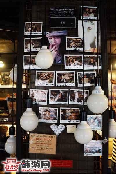 韩国弘大POLY CAFE and TEA咖啡甜品店17
