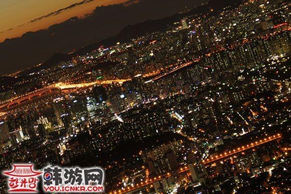 首尔南山公园_韩国景点_韩游网
