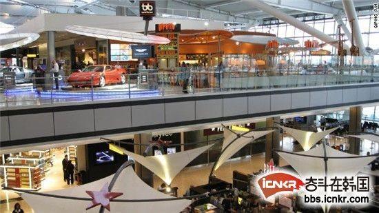 中转机场 仁川国际机场