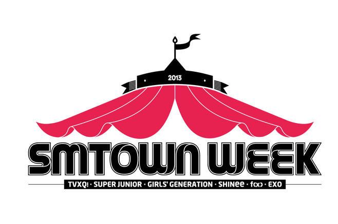 SMTOWN WEEK EXO 少女时代 f(x)