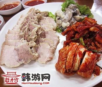 韩国崔财主菜包肉
