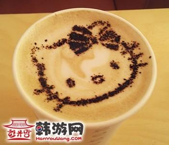 韩国Hello Kitty咖啡厅弘大店