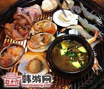 韩国弘大海鲜烧烤