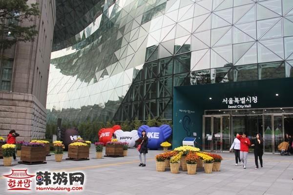 首尔广场_韩国景点_韩游网