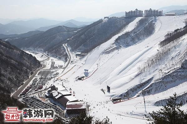 O2resort滑雪场_韩国景点_韩游网