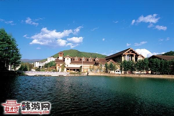 韩国龙平滑雪场3
