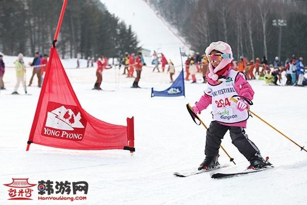 龙平滑雪场(《冬季恋歌》拍摄地)_韩国景点_韩游网
