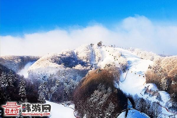 韩国凤凰城度假村滑雪场9