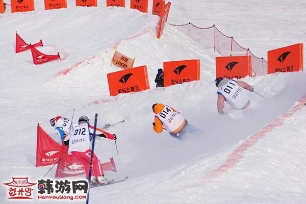 韩国凤凰城度假村滑雪场13