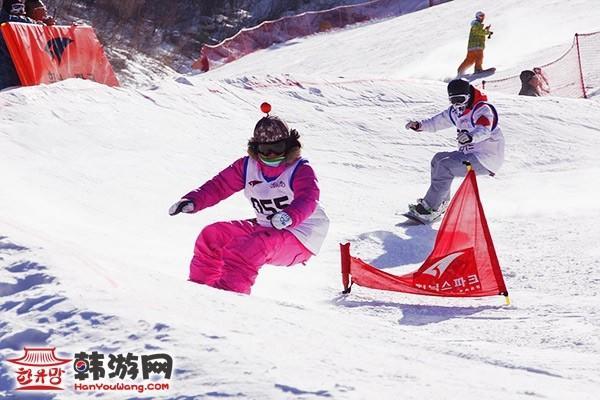 韩国凤凰城度假村滑雪场15