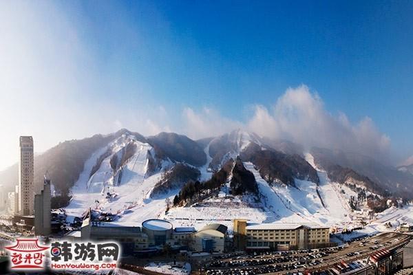 韩国凤凰城度假村滑雪场12