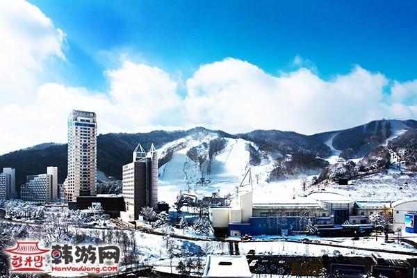 韩国凤凰城度假村滑雪场17